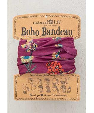 BOHO BANDEAU BERRY STEMS