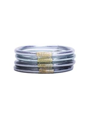 MOON ALL WEATHER BANGLES (SET OF 4) SZ LARGE