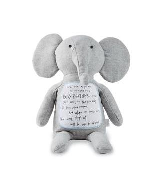 BIG BROTHER ELEPHANT PLUSH TOY
