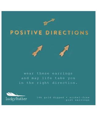 POSITIVE DIRECTION EARRINGS