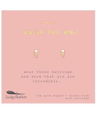 RAISE THE BAR EARRINGS
