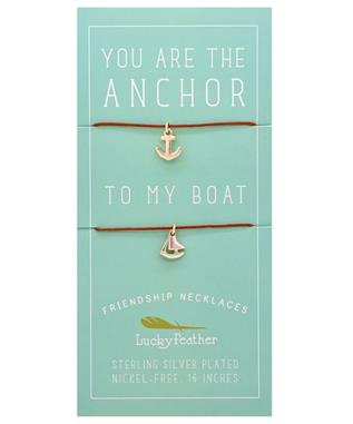 Friendship Necklace - ANCHOR/BOAT