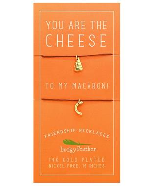 Friendship Necklace - CHEESE/MACARONI