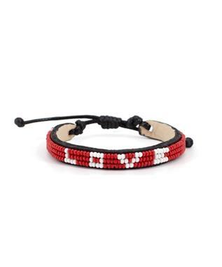 RED AND WHITE SKINNY LOVE BRACELET