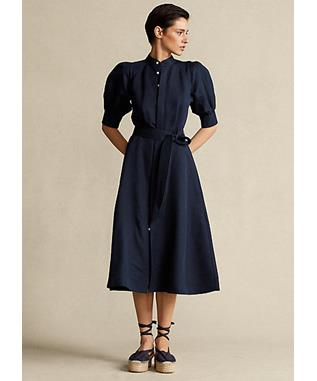 LS CICI DR-ELBOW SLEEVE-CASUAL DRESS