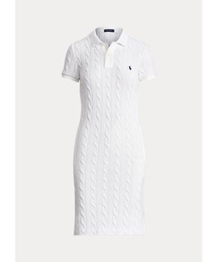 CABLE POLO DRESS