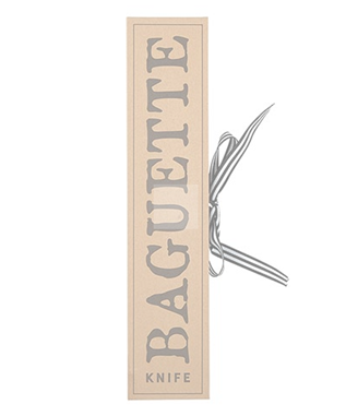 CARDBOARD BOOK SET - BAGUETTE KNIFE
