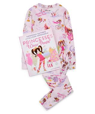PRINCESS WEAR PANTS KIDS PJ SET