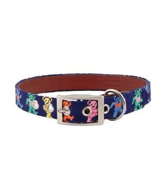 DANCING BEARS DOG COLLAR