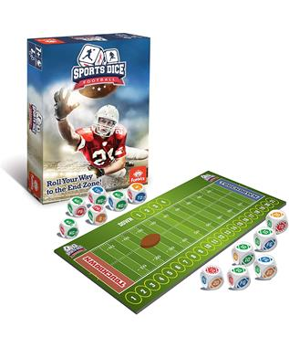 FOOTBALL SPORTS DICE GAME