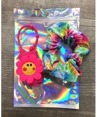 Sanitizer & Scrunchie Gift Set