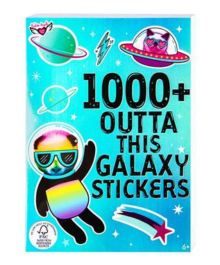 1000+ GALAXY STICKER BOOK