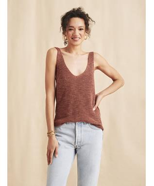 OUT EAST SWEATER TANK