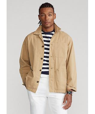 CHINO SHIRT JACKET