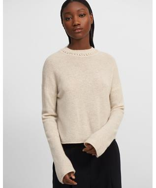 CROPPED PULLOVER.CAS
