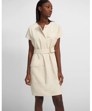 Crewneck Utility Dress