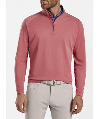 BULLSEYE PRECISION WOOL-BLEND 1/4 ZIP