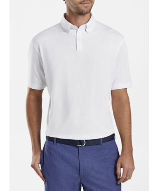 ACE COTTON-BLEND PIQUE POLO