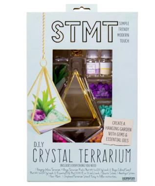 DIY Crystal Terrarium
