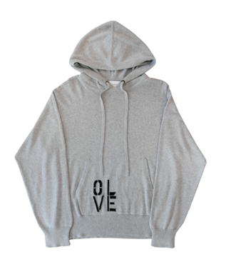 OLIVE YOU COTTON CASHMERE HOODIE
