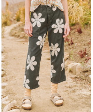 THE VINTAGE ARMY PANT W/ DAISY STAMP