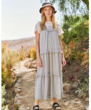 THE EYELET MAGNOLIA DRESS