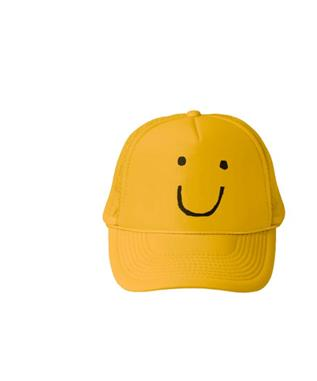 MR SMILEY TRUCKER HAT
