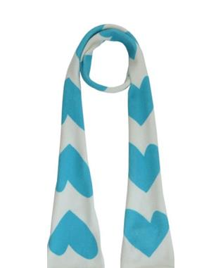 SKINNY IMPERFECT HEART SCARF