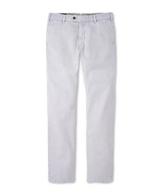 CONCORD GARMENT DYED FLAT FRONT TROUSER