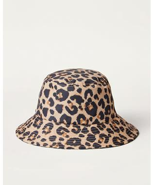 IVY LEOPARD BUCKET HAT
