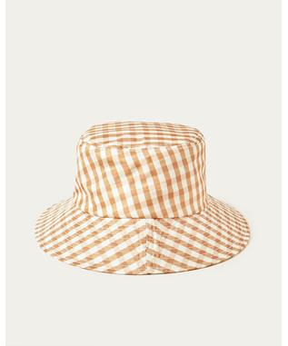 IVY GINGHAM BUCKET HAT