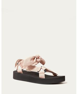 MAISIE PINK BOW SANDAL
