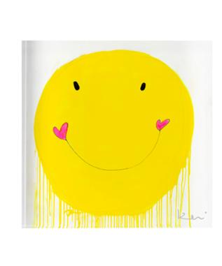 SMILEY 2 X 2 BLOCK OF LOVE