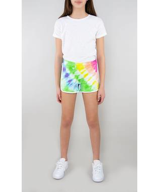 WATERCOLOR FRENCH TERRY DOLPHIN SHORT