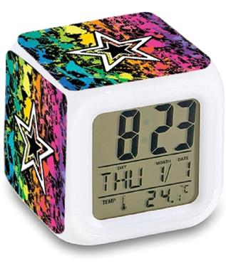 LED COLOR CHANGING ALARM CLOCK