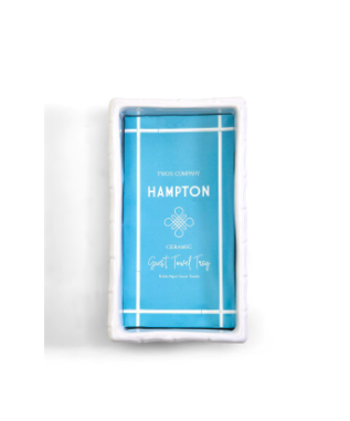 Hampton Faux Bamboo Guest towel tray