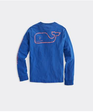 GARMENT DYED VINTAGE WHALE PKT TEE