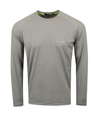 LUX-LEISURE LONG-SLEEVE CREWNECK
