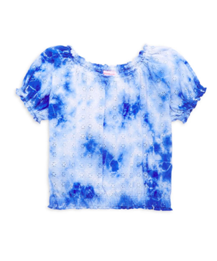 TIE DYE S/S CROPPED TOP