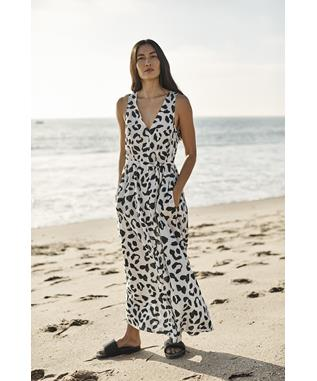 LEOPARD PRINTED VOILE-GISELLE