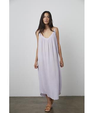 COTTON GAUZE-DRESS