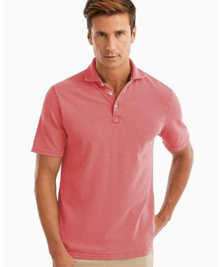 SURFSIDE GARMENT DYED PIQUE POLO