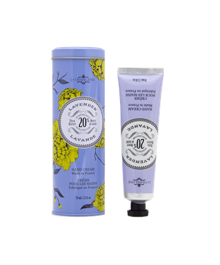 Lavender Full Size Hand Cream with Tin