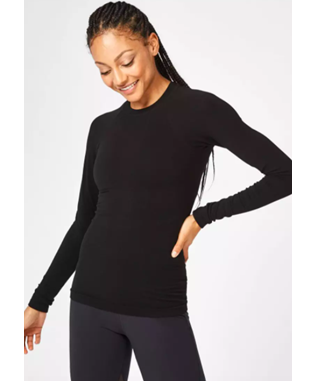 GLISTEN BAMBOO WORKOUT TOP L/S