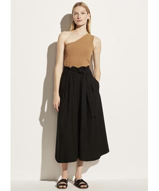 BELTED PALAZZO CULOTTE
