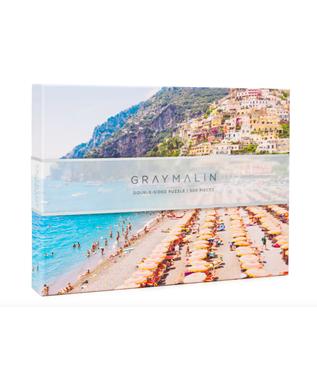 GRAY MALIN ITALY DOUBLE SIDE PUZZLE