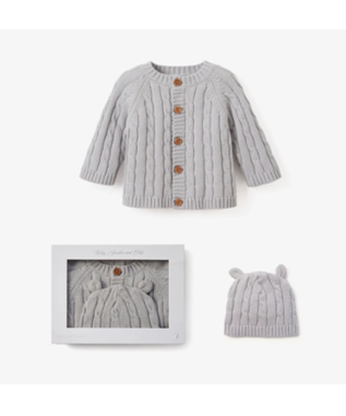 HEATHER GRAY CABLE BUNDLE