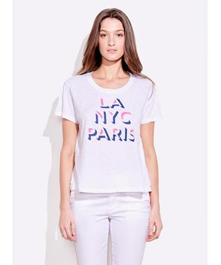 LA NYC PARIS VINTAGE TEE