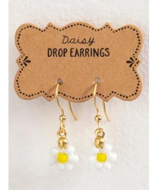 DAISY DROP EARRINGS