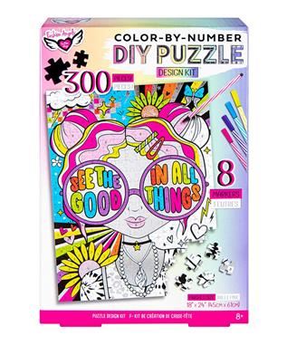 DIY Color-by-Number Puzzle